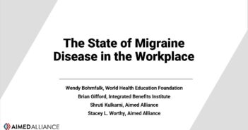 Aimed Alliance Hosts Webinar on Migraine in the Workplace for Employers